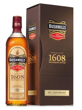 Bushmills Irish Whiskey 1608 Anniversary Ltd Edition
